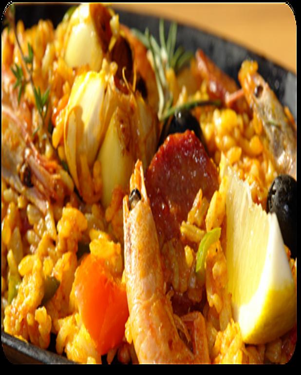 Paella andalouse