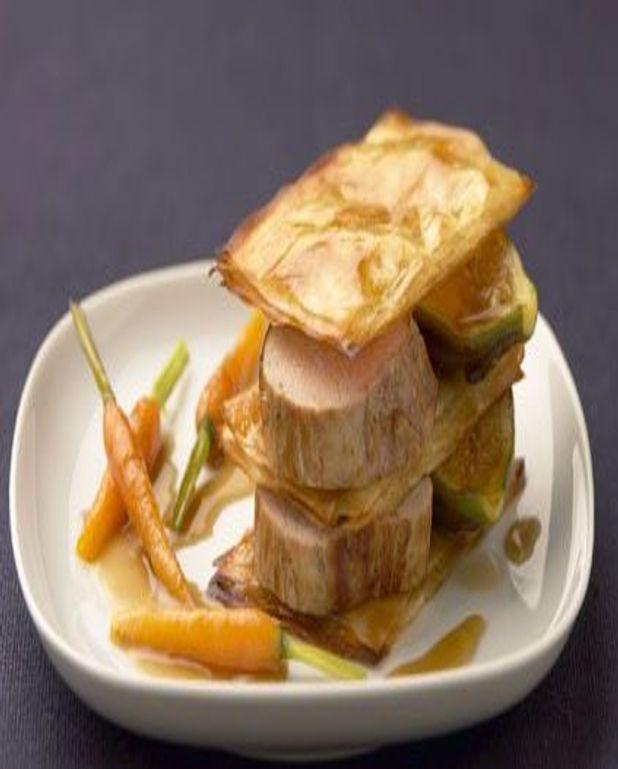 Pastilla de mignon de veau aux figues