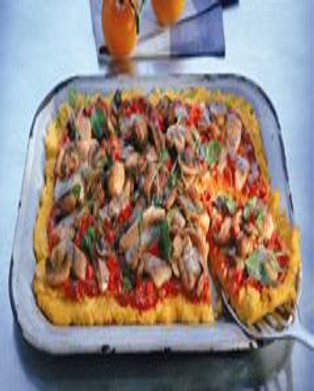 Pizza alla napoletana (pizza à la napolitaine)