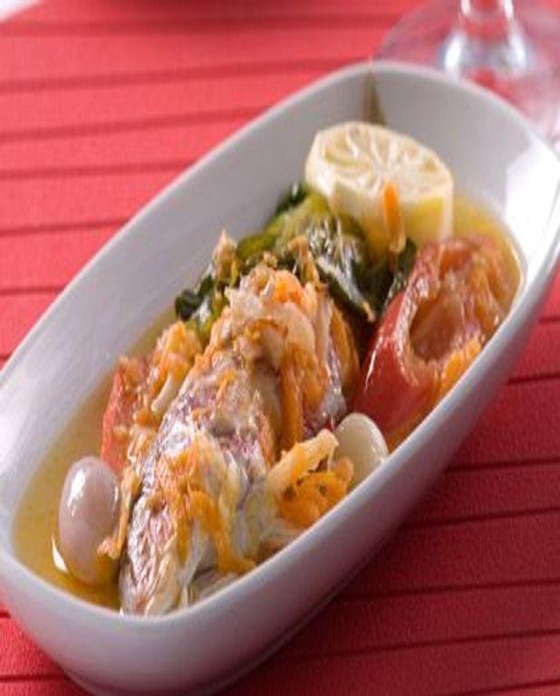 Poisson frit à la sauce d'huître pimentée