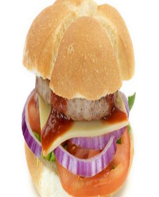 Porc-burger à l'oignon et au fromage