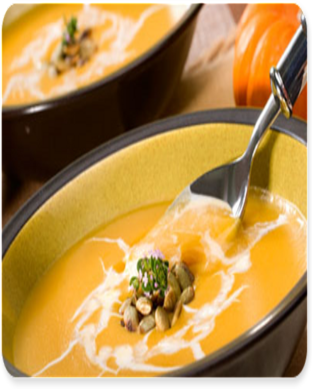 Potage au curry