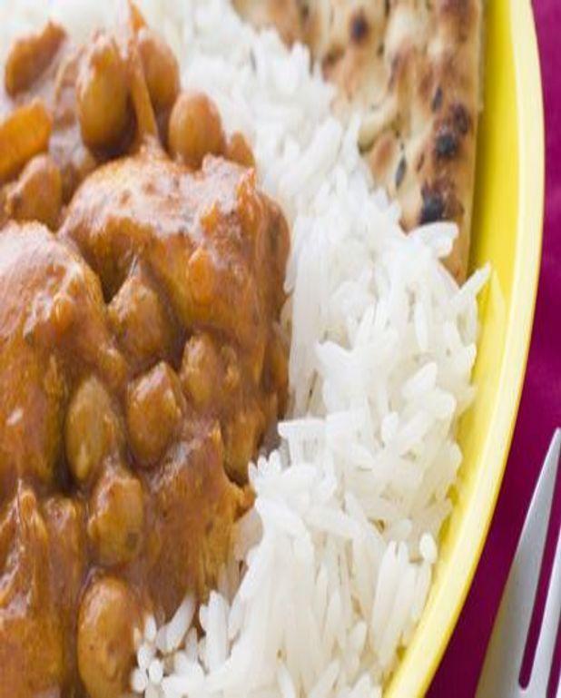 Poulet au curry et pois chiches