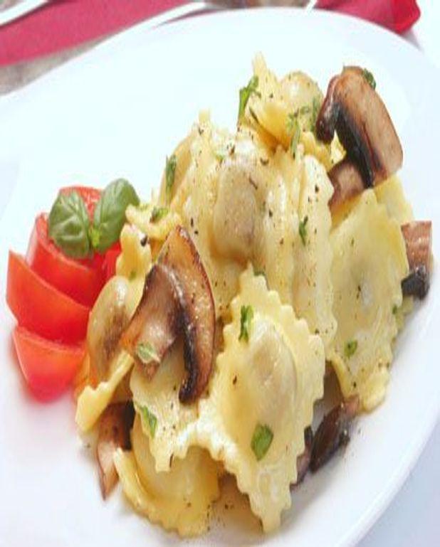 Raviolis aux champignons