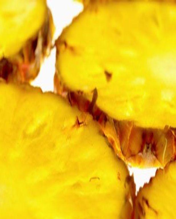 Rondelles d'ananas à la plancha