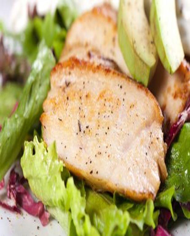 Rôti de porc diététique