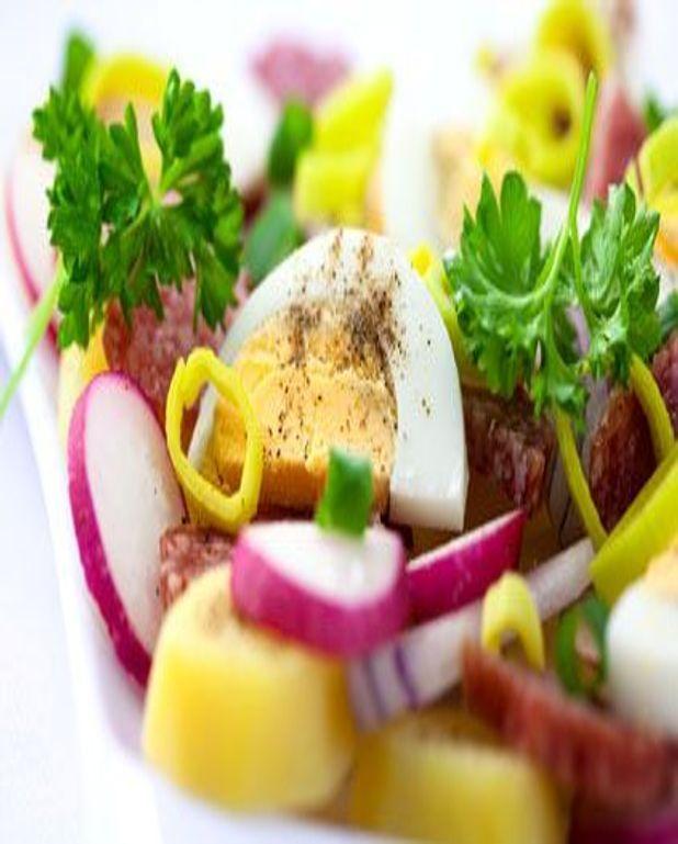 Salade au saucisson