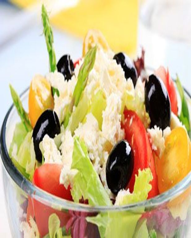 Salade aux asperges vertes