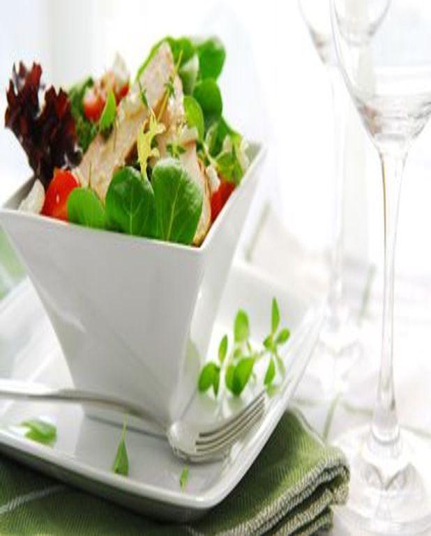 Salade césar crémeuse