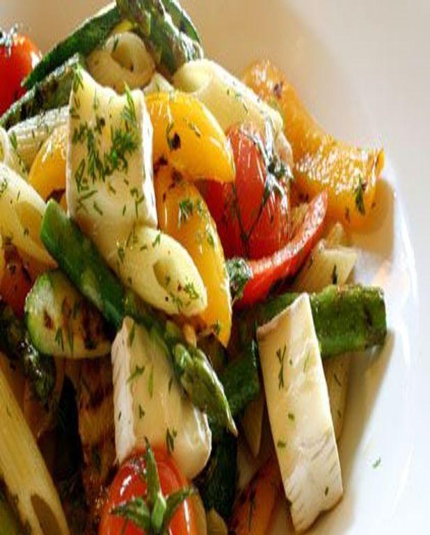 Salade d'asperges aux pâtes