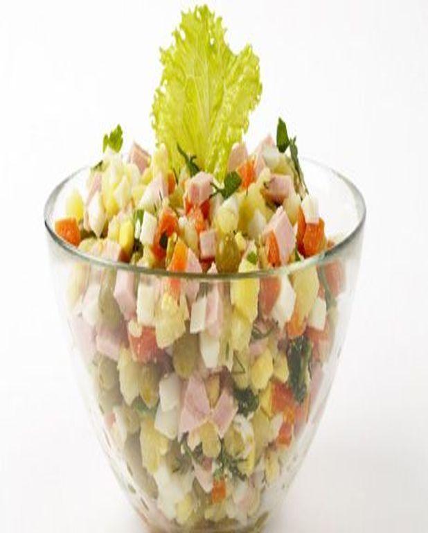 Salade de betterave au jambon blanc