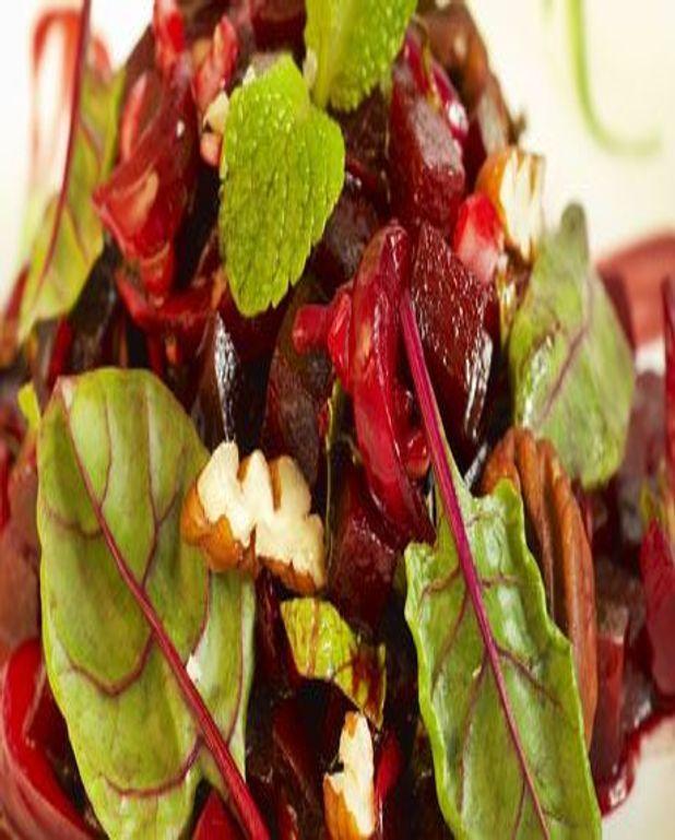 Salade de betteraves à l'orange