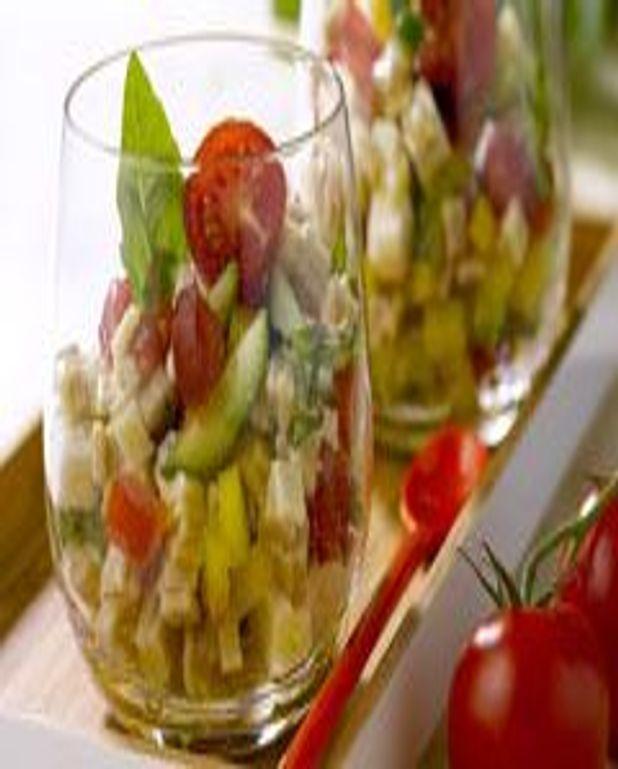 Salade de crozets