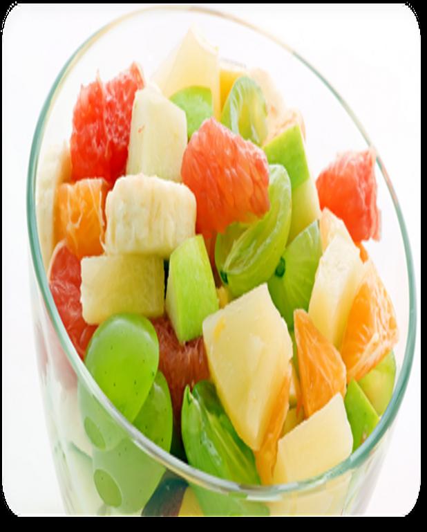 Salade de fruits façon tiramisu