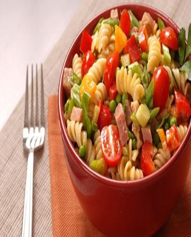 Salade de pâtes au jambon