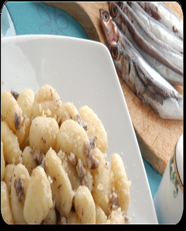 Salade de pommes de terre aux deux harengs