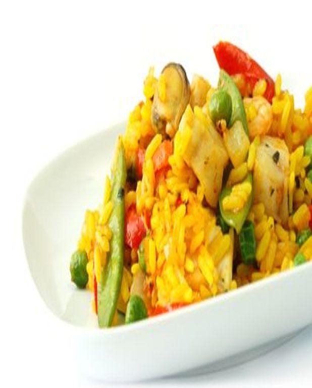 Salade de riz à la valenciennoise