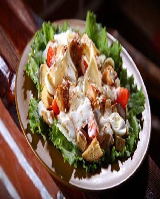 Salade de riz et de poulet