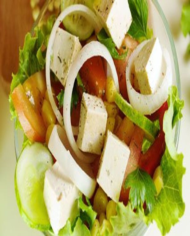 Salade de tofu