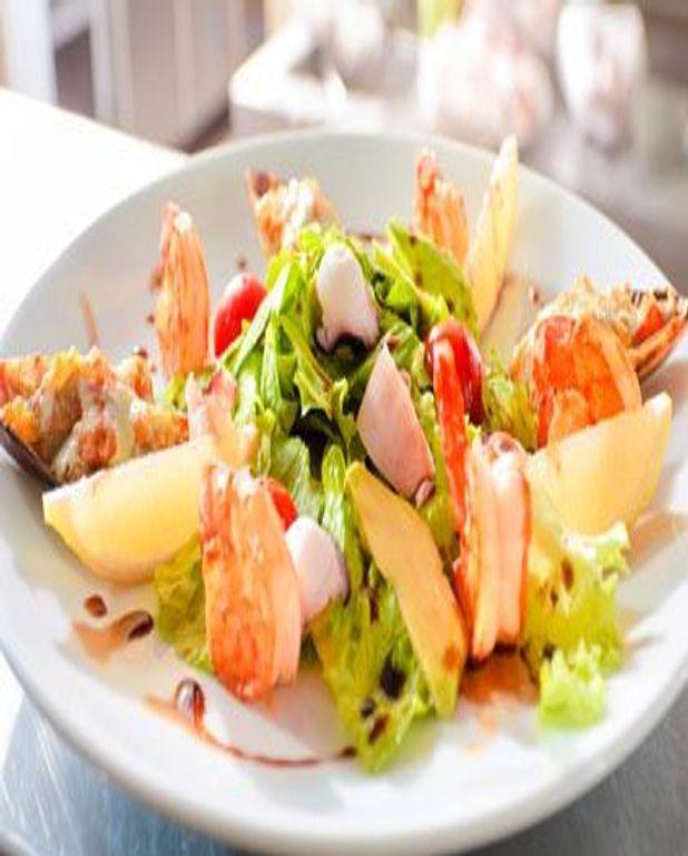 Salade folle à la truffe