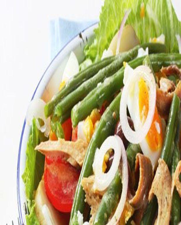 Salade provençale aux haricots verts