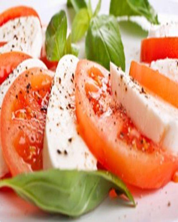 Salade tomates mozzarella