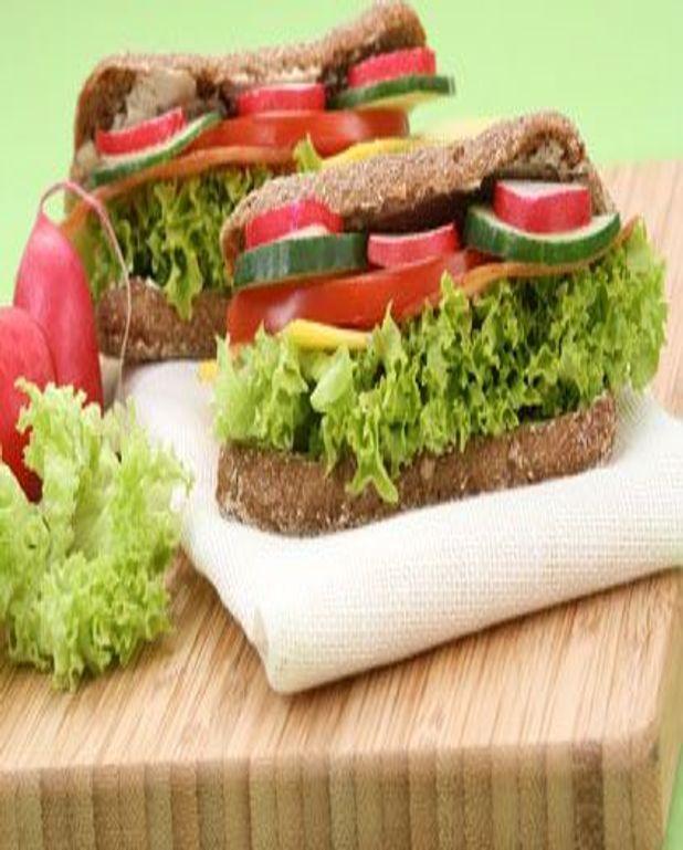Sandwich aux radis