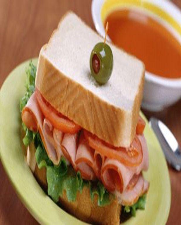 Sandwich Tomates Bacon