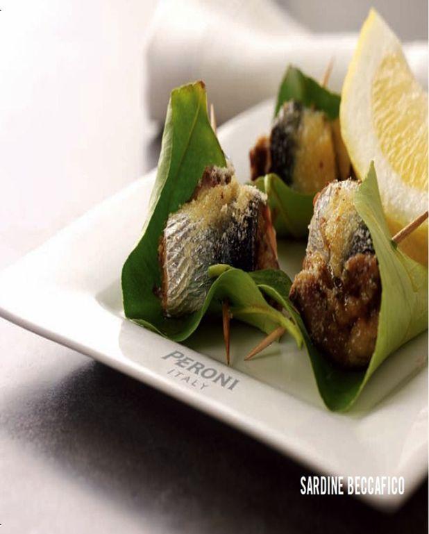 Sardines farcies ou sardines beccaficio