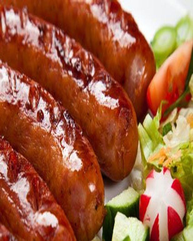 Saucisses au barbecue