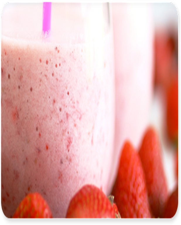 Smoothie aux fraises tagada