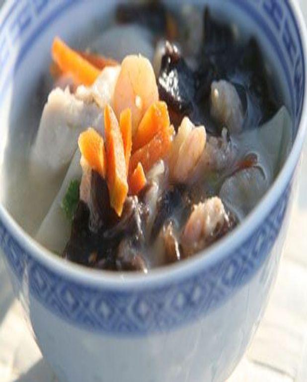 Soupe asiatique de poisson