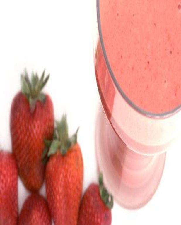 Soupe aux fraises
