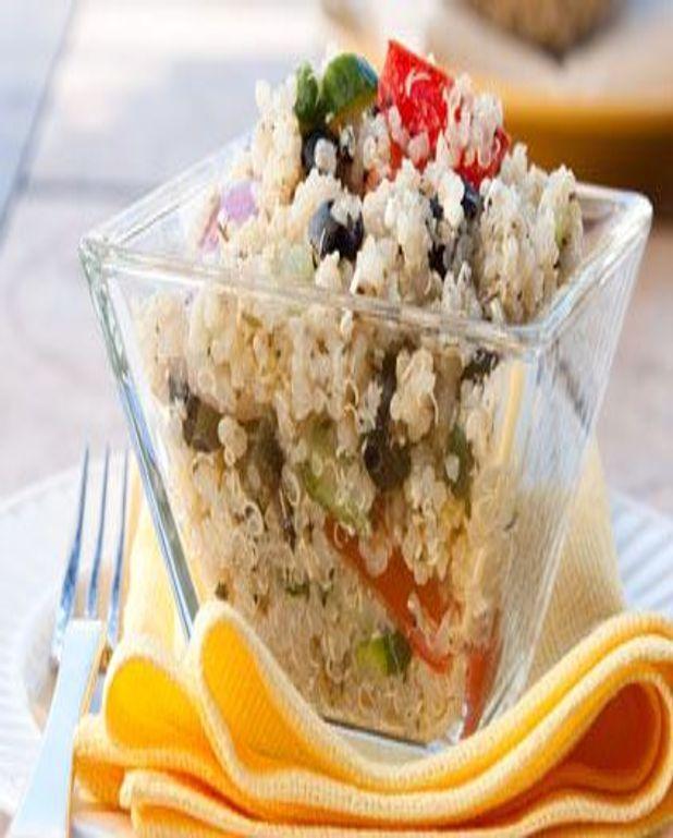 Taboulé léger au quinoa