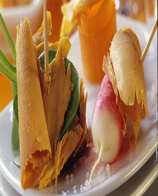 Tapas de foie gras et magret