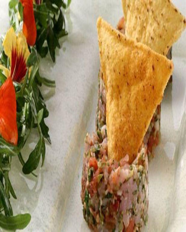 Tartare de Veau et salade de Roquette