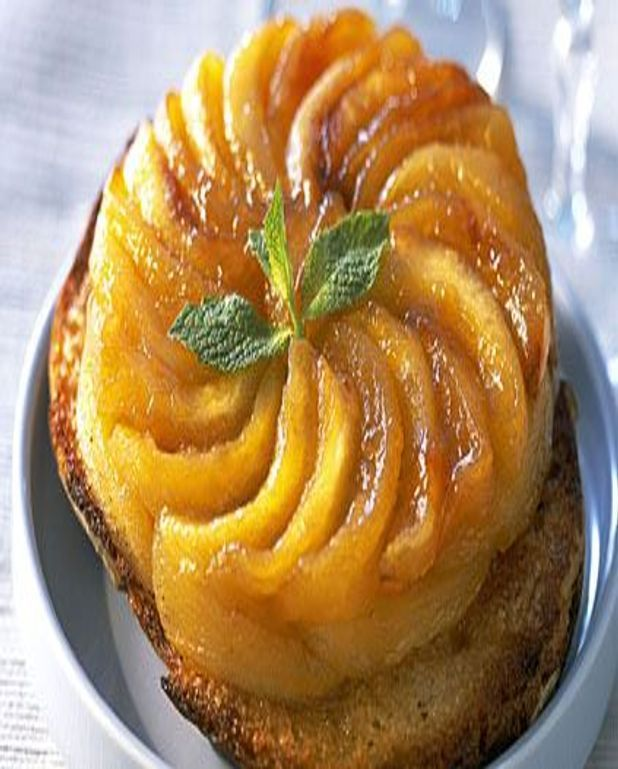 Tartines de pommes tatin