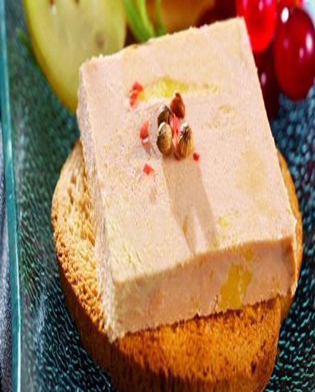 Toasts de Foie Gras de Canard Mi-cuit à la Moutarde