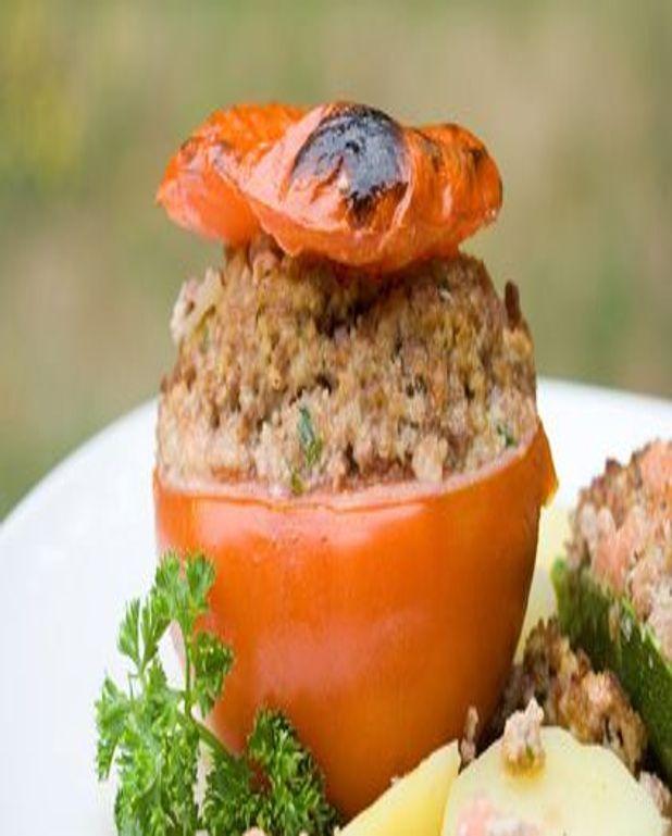 Véritables tomates farcies