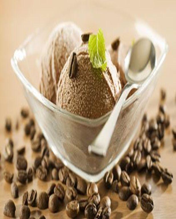 Yaourt glacé au café