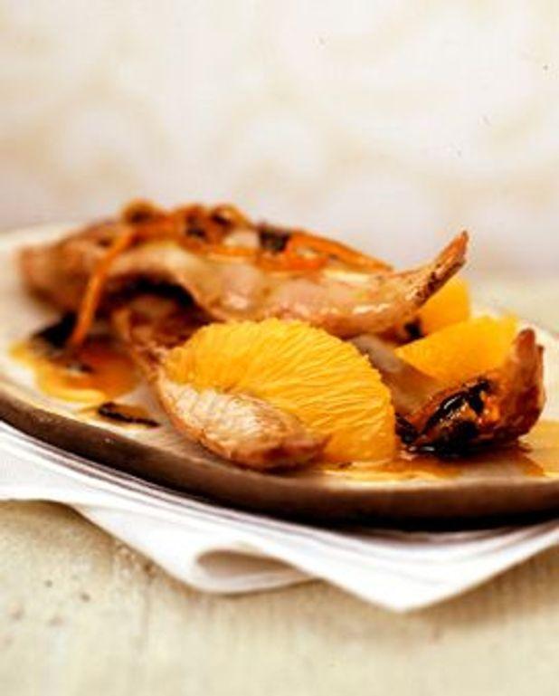 Aiguillettes de poulet à l'Orangina