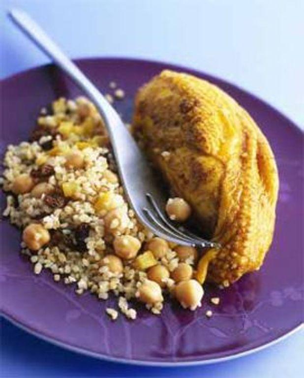 Poulet aux épices du Maghreb