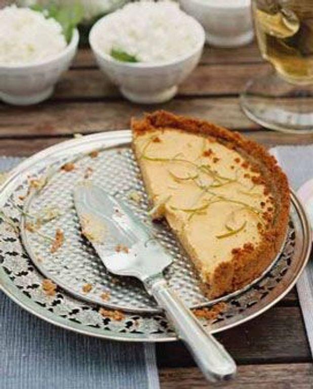 Key lime tarte (tarte citron vert)