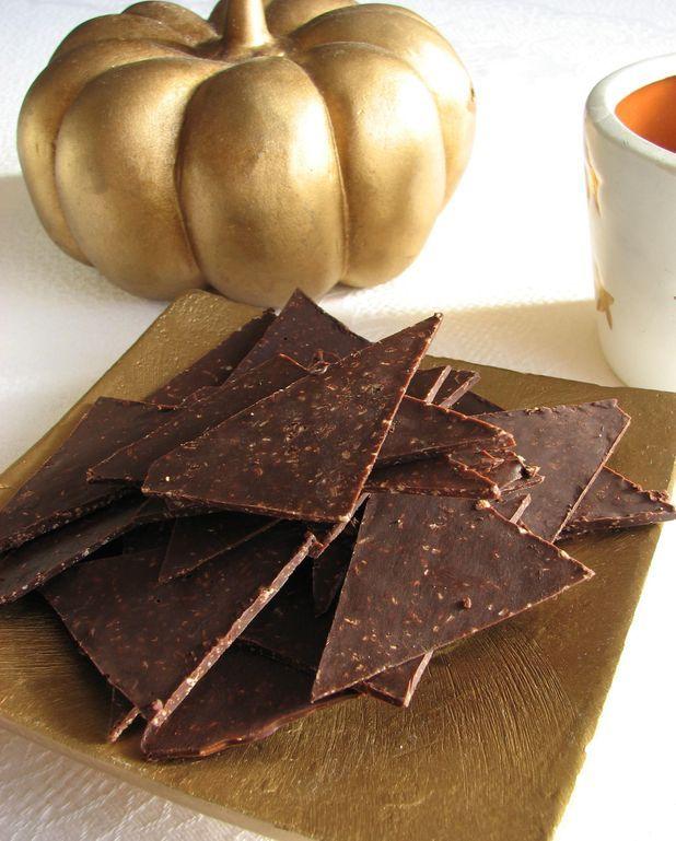 Eclats de chocolat croustillant aux épices