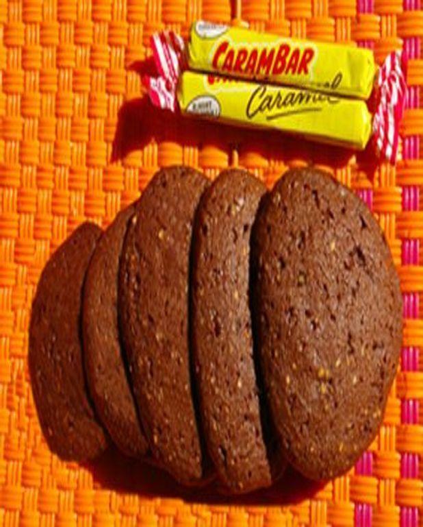 Sablé au chocolat et aux carambars
