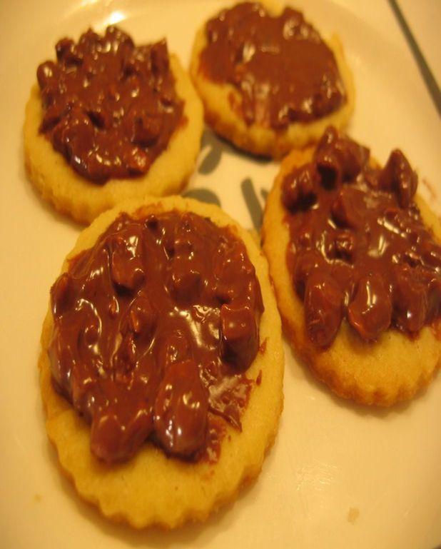 Sablés bretons chocolat noisettes