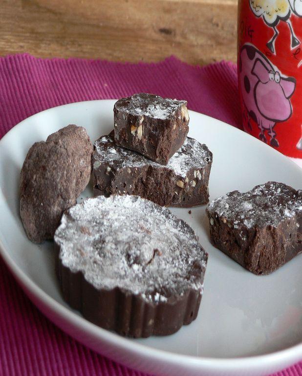 Super truffe croquante aux noix