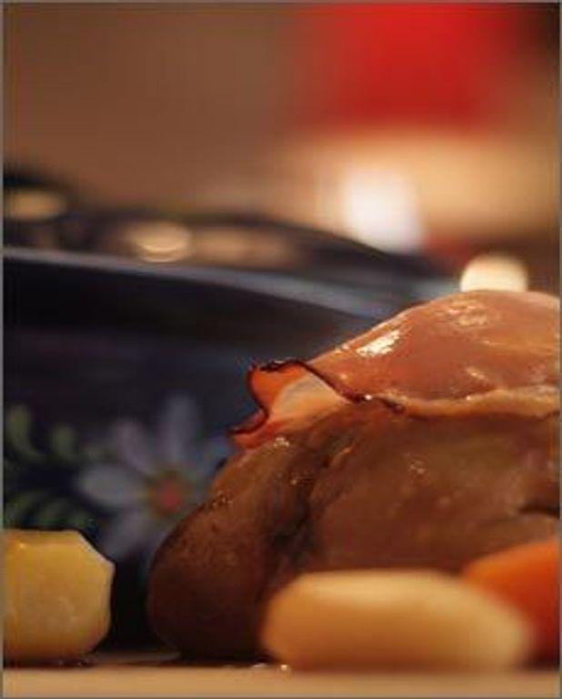 Baeckaoffa de foie gras d'oie
