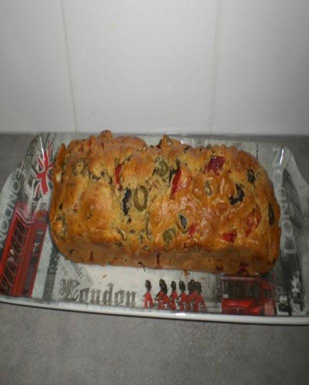 Cake au poivron et olives