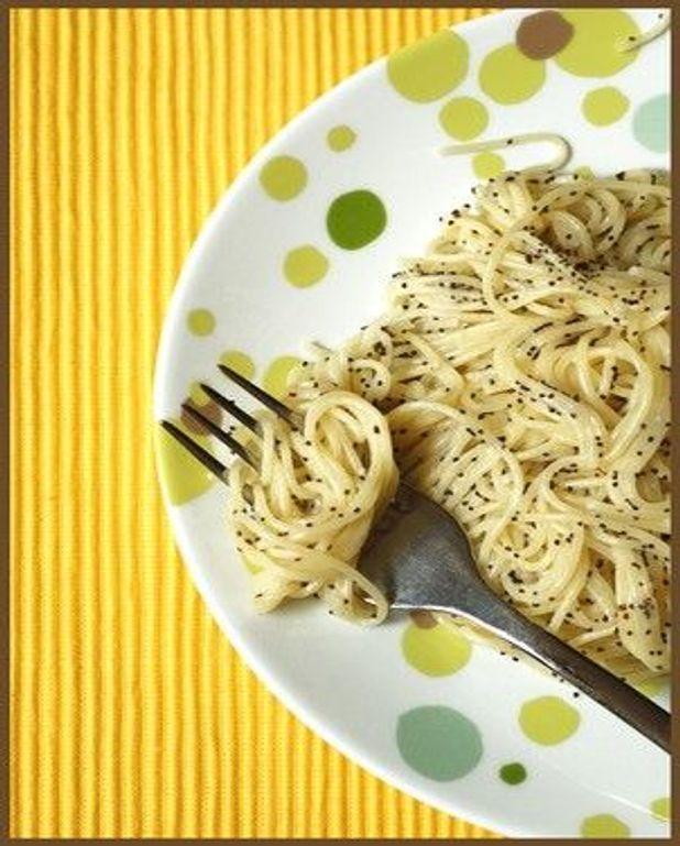 Capellini citron-pavot